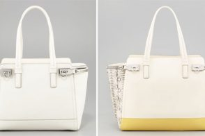 Blog Debates: Salvatore Ferragamo, solid or colorblocked?