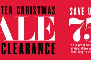 Shop the Bloomingdale's After Christmas Sale and Clearance