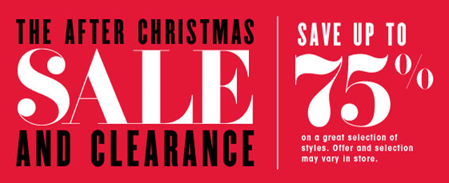 Shop the Bloomingdale's After Christmas Sale and Clearance - PurseBlog