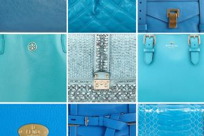December Birthday Gift Guide: Blue Topaz Handbags
