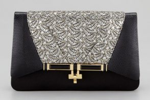 Kara Ross makes what might be the perfect holiday party clutch