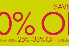 Take an extra 25%-33% off sale prices at the Neiman Marcus After Christmas Sale
