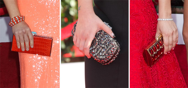 2013 Screen Actors Guild Clutches