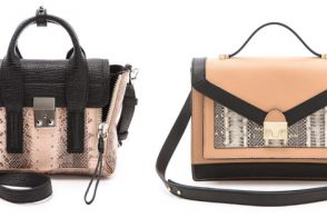 Bag Battles: The 3.1 Phillip Lim Mini Pashli vs. The Loeffler Randall Rider