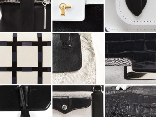 Black and White and Chic All Over: The Season's Best Bicolor Bags