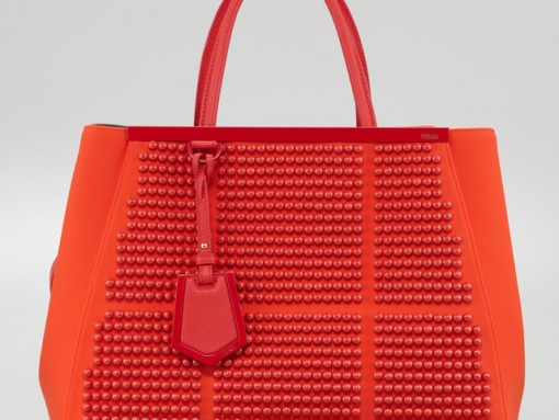 Latest Obsession: The Fendi 2Jours Studded Neoprene Tote