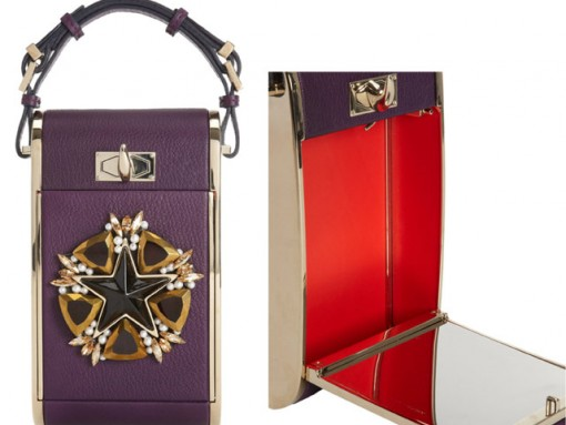"""Fill in the Blank: """"The Givenchy Star-Embellished Minaudiere can hold…"""""""