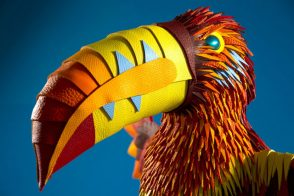 Check out these amazing animals made of Hermes leather scraps