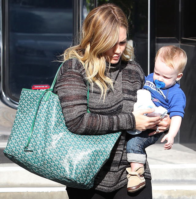 The Many Bags Of Hilary Duff Purseblog