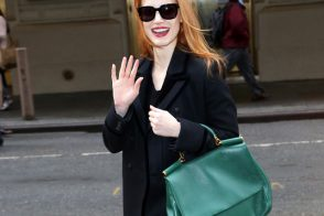 Jessica Chastain adds Dolce & Gabbana to her growing bag collection