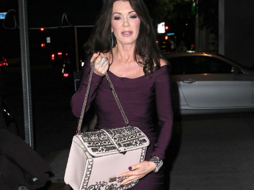 Lisa Vanderpump goes to a party in West Hollywood