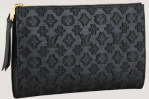 Currently coveting the Louis Vuitton Flat Zip Pochette