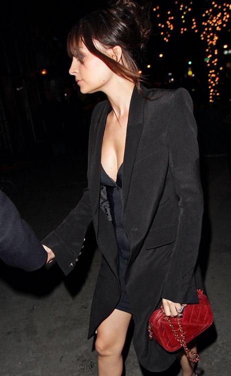 Nicole Richie Chanel Vintage Envelope Shoulder Bag