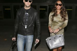 Tamara Ecclestone and friend hit LA in style with Hermes and Goyard