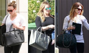The Many Bags of Hilary Duff