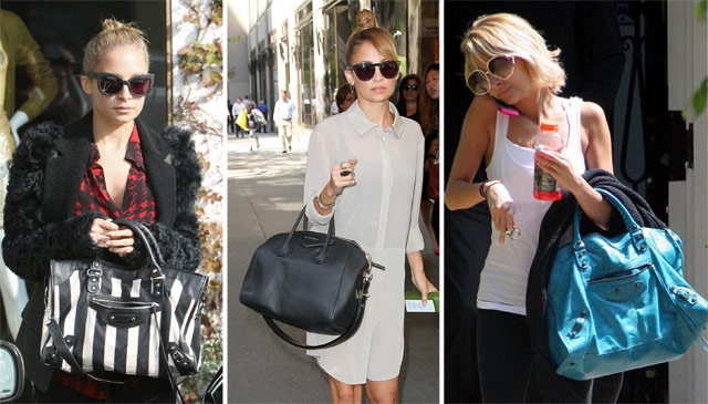 The Many Bags Of Nicole Richie