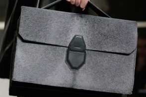 Alexander Wang Fall 2013: Refined Handbags and Fur Boxing Gloves