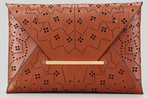 Bag Deal of the Day: BCBGMAXAZRIA Harlow Laser-Cut Envelope Clutch Bag