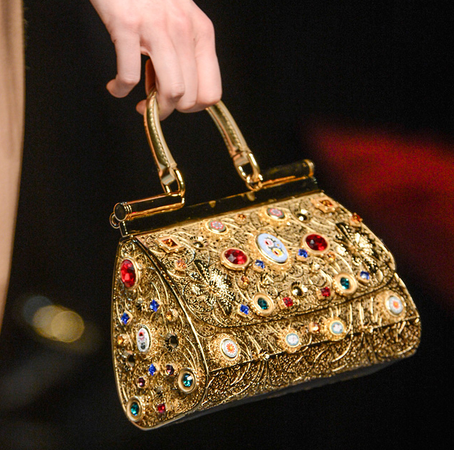 Dolce & Gabbana Fall 2013 Handbags (12)