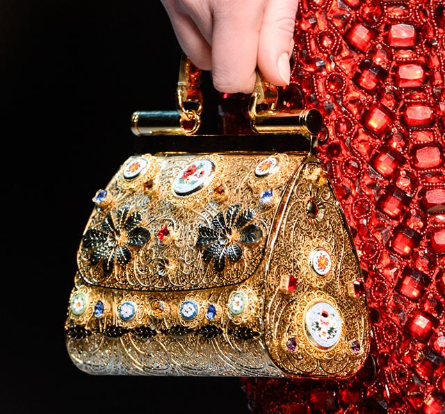 Dolce Amp Gabbana S Wacky Elaborate Fall 2013 Handbags Have