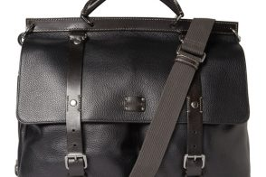 Man Bag Monday: Dolce & Gabbana Full-Grain Leather Messenger