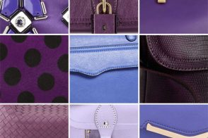 February Birthday Gift Guide 2013: Amethyst Handbags
