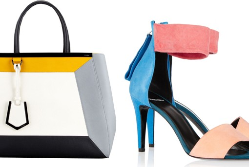 Fendi Colorblock 2Jours and Pierre Hardy Sandals