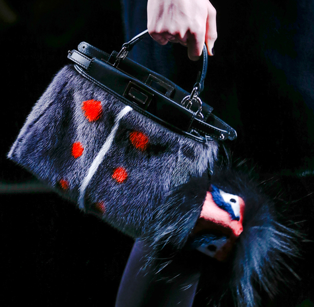 Fendi Fur Bags for Fall 2013 (11)
