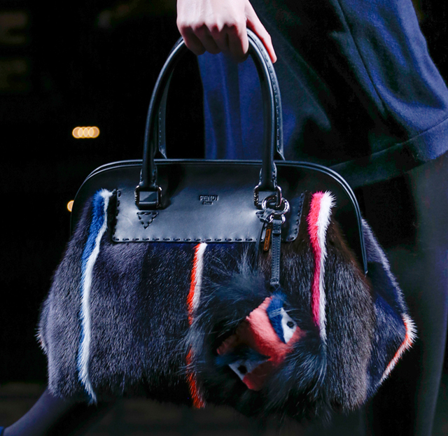 7c19875719 Fendi Fall 2013 takes fur bags to the next level (and several levels ...