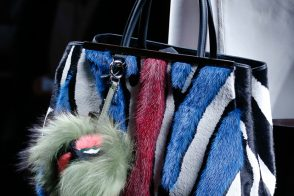 Fendi Fall 2013 takes fur bags to the next level (and several levels thereafter)