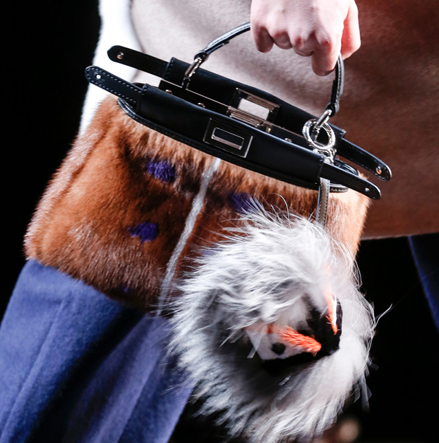 Fendi Fur Bags for Fall 2013 (3)