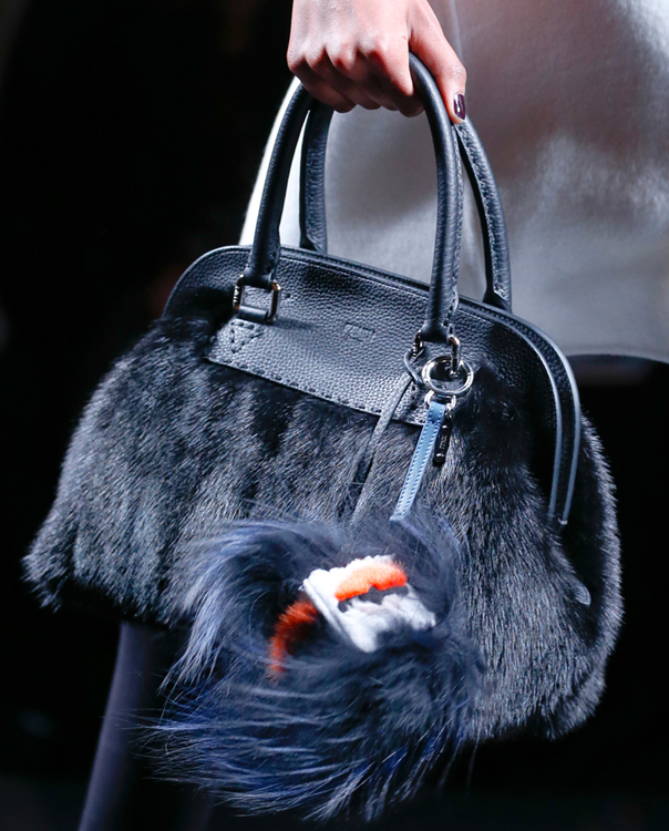 Fendi Fur Bags for Fall 2013 (5)