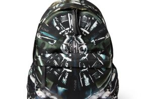 Man Bag Monday: Givenchy Airplane Print Leather Trim Backpack