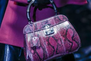 Gucci reimagines its signature bamboo for Fall 2013