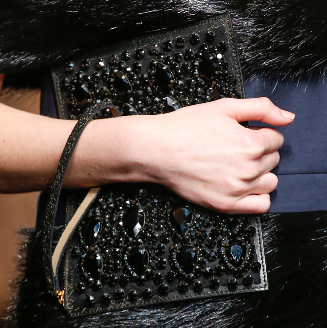 Marni Fall 2013 Beaded Clutch