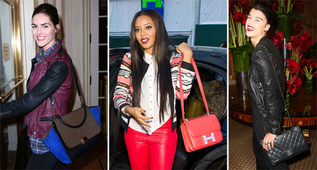 New York Fashion Week Celebrity Handbags