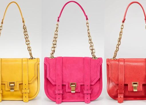 The Proenza Schouler PS1 Mini Messenger Bags
