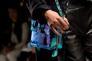 Check out the bag and coat I'm craving from Rebecca Minkoff Fall 2013