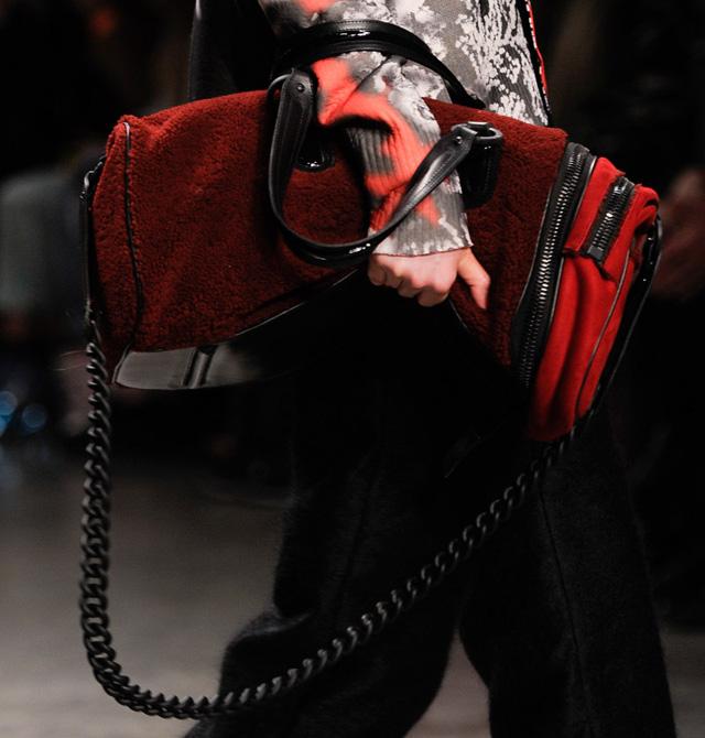 TopShop Unique Fur Satchel