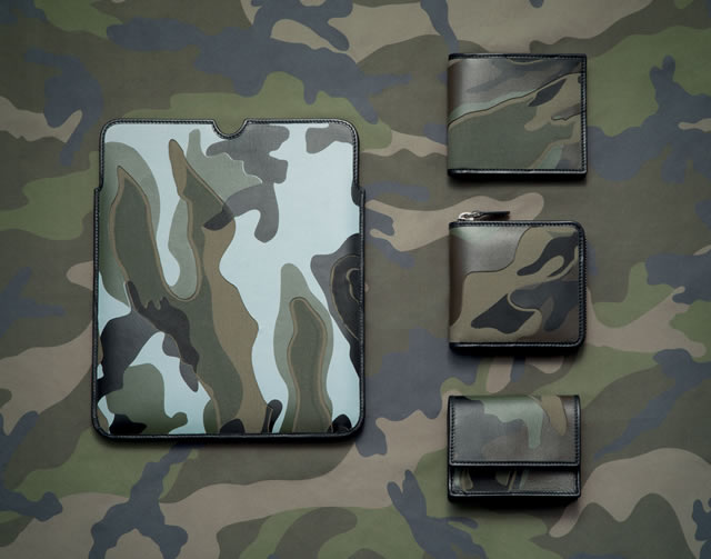 Valentino Mens Camo Accessories