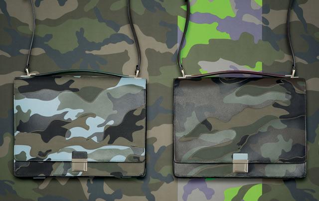 Valentino Mens Camo Bags