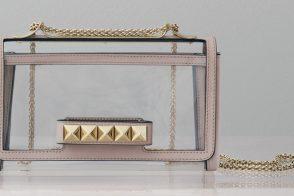 Valentino Rockstud Naked VaVaVoom Shoulder Bag