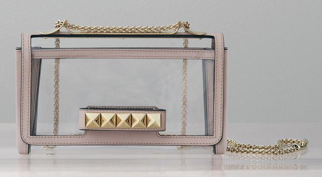 Valentino Rockstud Naked VaVaVoom Shoulder Bag