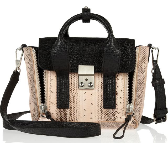 3.1 Phillip Lim Snakeskin Mini Pashli Bag