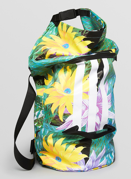 Adidas Y-3 Beach Floral Convertible Backpack and Duffel