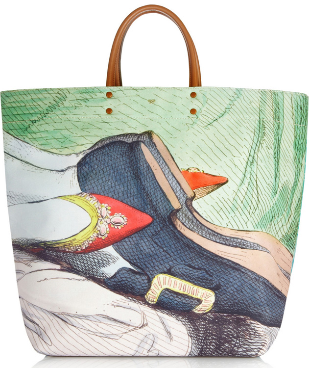 Anya Hindmarch Earl Valentine Shopper