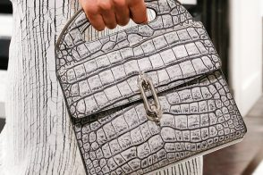 Check out Alexander Wang's first handbags for Balenciaga Fall 2013