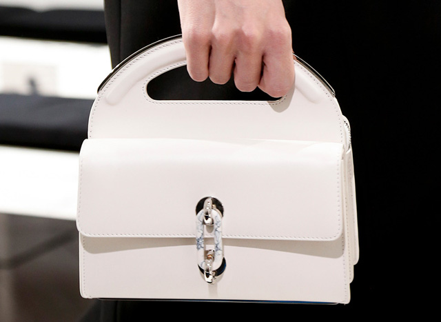 Balenciaga Fall 2013 White Handbag