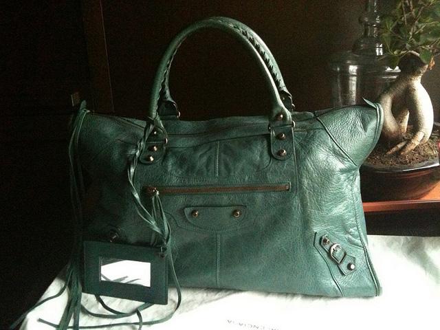 Balenciaga Vert Menthe Work Bag