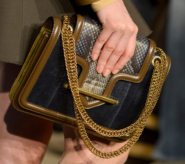 Belstaff Fall 2013 Chain Shoulder Bag
